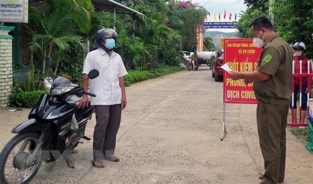 Phu Yen: No luc khong che cac o dich COVID-19 ngoai cong dong hinh anh 1