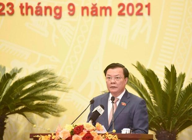 Khai mac Ky hop thu 2 Hoi dong Nhan dan thanh pho Ha Noi khoa XVI hinh anh 2