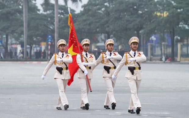 Bo truong Tran Dai Quang phat lenh xuat quan bao ve Dai hoi Dang hinh anh 3