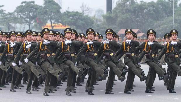Bo truong Tran Dai Quang phat lenh xuat quan bao ve Dai hoi Dang hinh anh 5