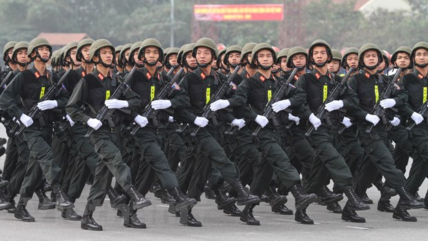 Bo truong Tran Dai Quang phat lenh xuat quan bao ve Dai hoi Dang hinh anh 6