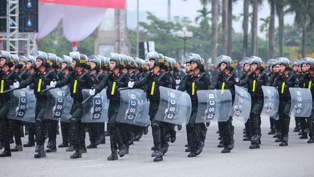Bo truong Tran Dai Quang phat lenh xuat quan bao ve Dai hoi Dang hinh anh 7