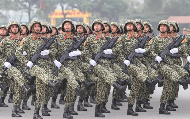 Bo truong Tran Dai Quang phat lenh xuat quan bao ve Dai hoi Dang hinh anh 8