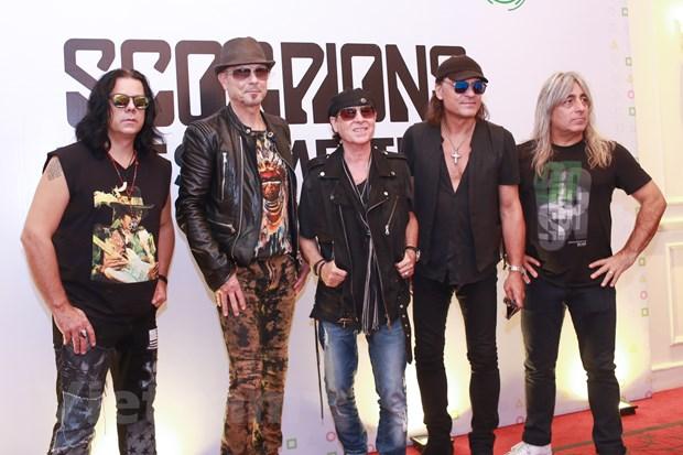 Ban nhac lung danh Scorpions sang Viet Nam: Muon con hon khong hinh anh 1