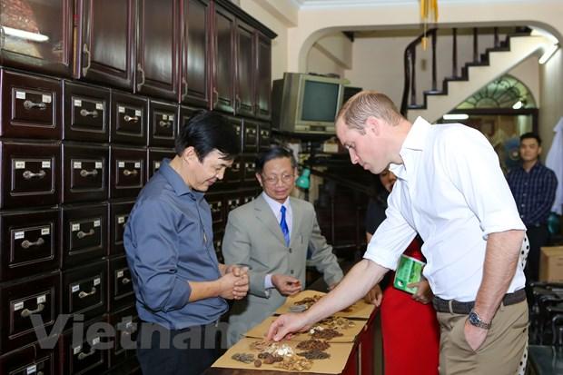 [Photo] 48 gio cua Hoang tu Anh William tai Ha Noi hinh anh 3