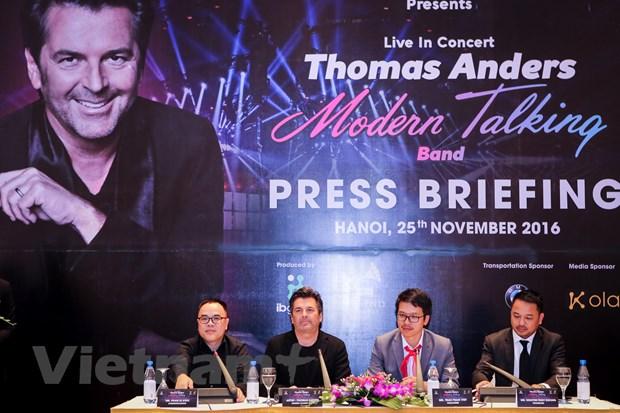 Thomas Anders: Am nhac cua Modern Talking van con hop thoi hinh anh 1