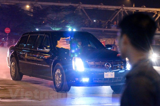 Nhin lai 2 ngay cua Tong thong Hoa Ky Donald Trump tai Ha Noi hinh anh 6