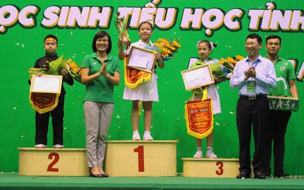 Bac Giang tang cuong phong trao the duc cho hoc sinh tieu hoc hinh anh 5