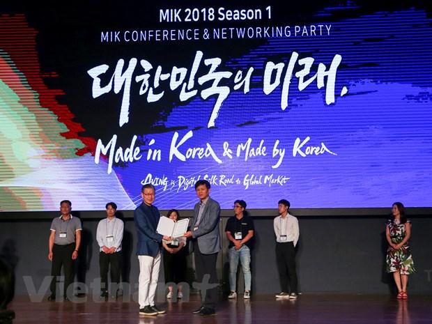 [Photo] Toan canh su kien MIK 2018 tai Han Quoc hinh anh 10