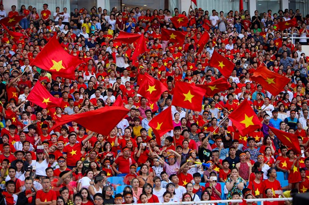 Toan canh le vinh danh tuyen Olympic va doan the thao Viet Nam hinh anh 1