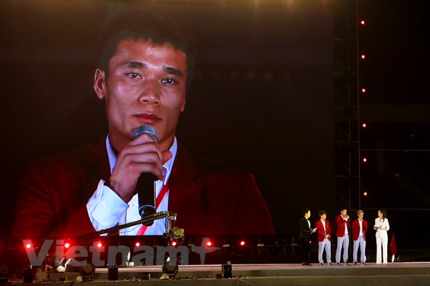 Toan canh le vinh danh tuyen Olympic va doan the thao Viet Nam hinh anh 16