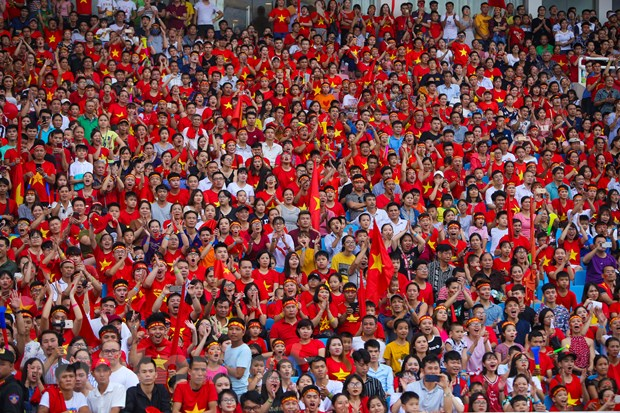 Toan canh le vinh danh tuyen Olympic va doan the thao Viet Nam hinh anh 2