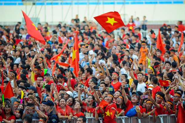 Toan canh le vinh danh tuyen Olympic va doan the thao Viet Nam hinh anh 6
