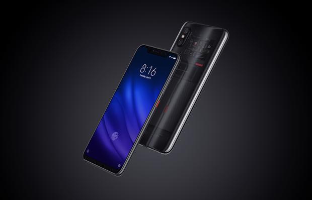 Xiaomi chinh thuc ban Mi 8 Pro voi cam bien van tay trong man hinh hinh anh 1