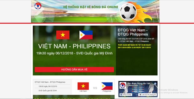 Buu dien Viet Nam se chuyen phat ve tran Viet Nam - Philippines hinh anh 1
