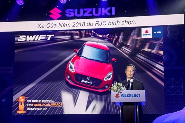 Suzuki Swift phien ban moi gia tu 499 trieu dong chinh thuc ra mat hinh anh 2