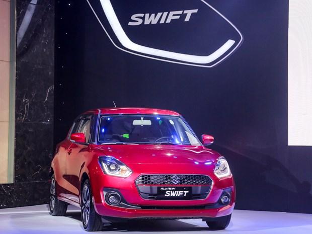 Suzuki Swift phien ban moi gia tu 499 trieu dong chinh thuc ra mat hinh anh 4