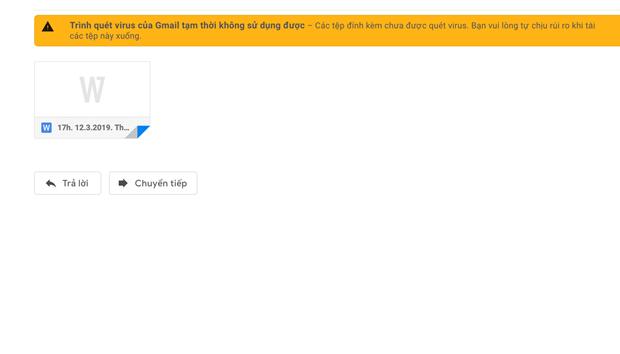 Gmail dang bi loi khong tai duoc tep dinh kem? hinh anh 1