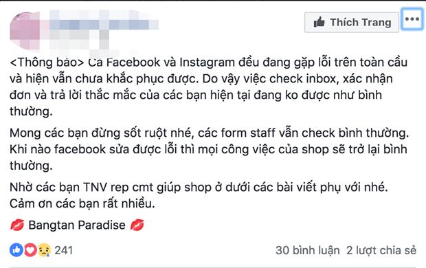 'Thuong de' buc xuc vi Facebook va Instagram bi sap trong nhieu gio hinh anh 4