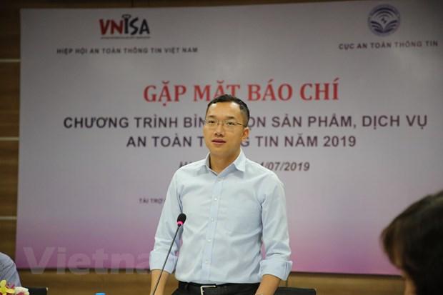 VNISA phat dong binh chon san pham dich vu an toan thong tin 2019 hinh anh 1