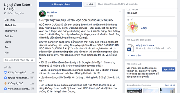Su that ve con duong moi mo Ngo Minh Duong tai Ha Noi hinh anh 3
