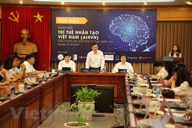 Ngay hoi Tri tue nhan tao Viet Nam 2019 se thu hut 2.000 nguoi tham du hinh anh 1
