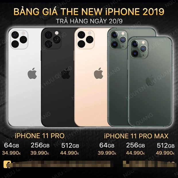 iPhone 11 Pro Max co mat tai Viet Nam vao 20/9, gia tu 37,5 trieu dong hinh anh 5