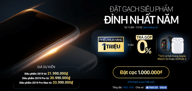 iPhone 11 Pro Max co mat tai Viet Nam vao 20/9, gia tu 37,5 trieu dong hinh anh 2