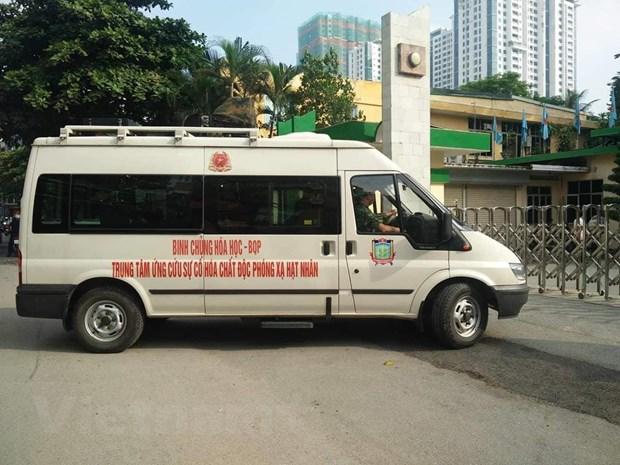 Bo doi Binh chung Hoa hoc co mat tai Rang Dong, chuan bi tay doc hinh anh 4