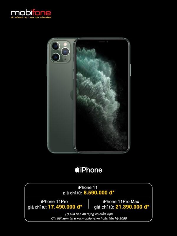 MobiFone mo ban sieu pham iPhone 11 kem goi cuoc voi gia uu dai hinh anh 2
