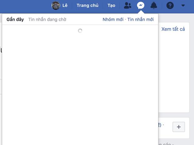 Facebook Messenger gap su co khong the truy cap hinh anh 1