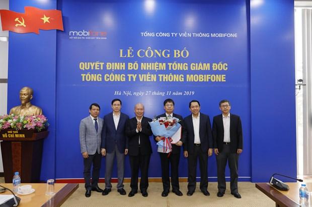 Tong Cong ty MobiFone chinh thuc co Tong Giam doc moi hinh anh 1