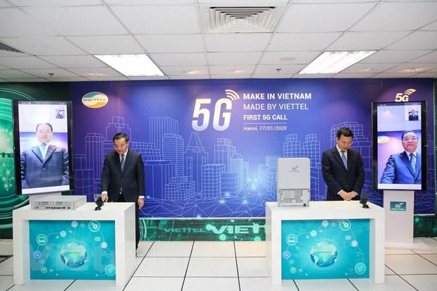 Viettel thuc hien cuoc goi 5G dau tien tren thiet bi Make in Vietnam hinh anh 1
