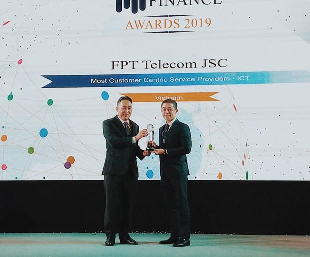 FPT Telecom dat giai thuong quoc te ve dich vu khach hang hinh anh 1