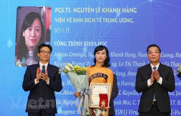 8 cong trinh nghien cuu de cu Giai thuong Ta Quang Buu nam 2020 hinh anh 1