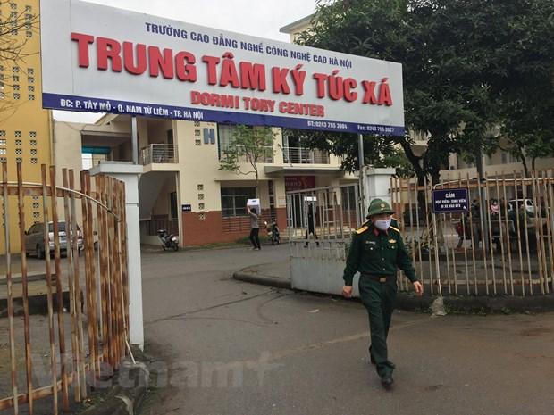 Ha Noi san sang dam bao an ninh, trat tu cho 2 khu cach ly moi hinh anh 2