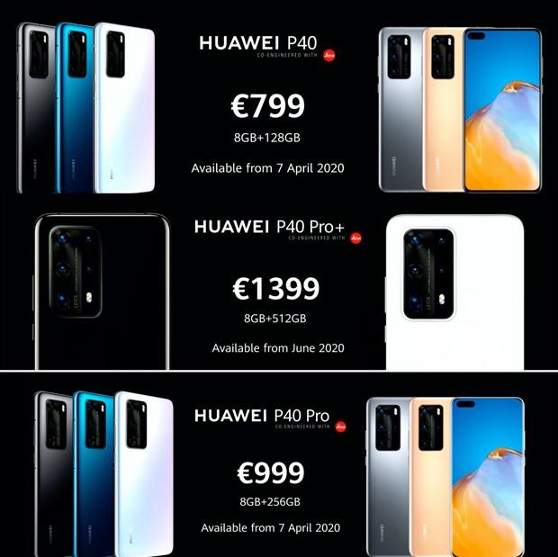 Huawei P40 ra mat: Gia tu 799 Euro, chua ro thoi diem ban o Viet Nam hinh anh 4