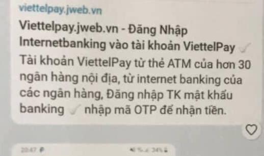 Canh bao gia mao Viettel Pay de lua dao chiem doat tai san hinh anh 1