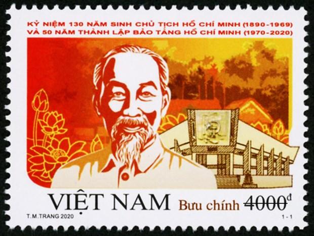 Phat hanh bo tem dac biet ky niem 130 nam sinh Chu tich Ho Chi Minh hinh anh 1