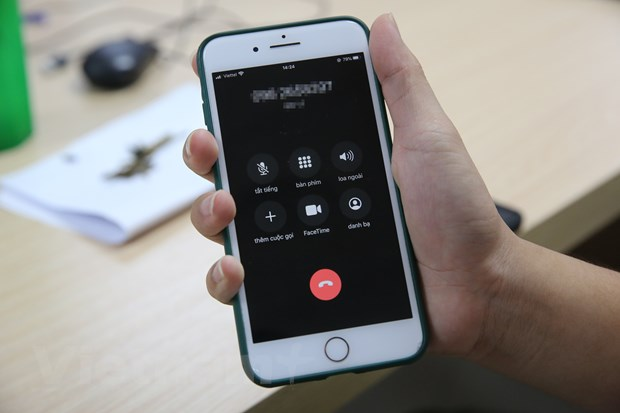 Các cuộc gọi rác đang gây nhiều phiền toái với người dùng Việt Nam. Ảnh: Minh Sơn/Vietnam+