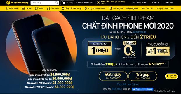iPhone 12 chinh hang tai Viet Nam se co gia tu 21,99 trieu dong hinh anh 3