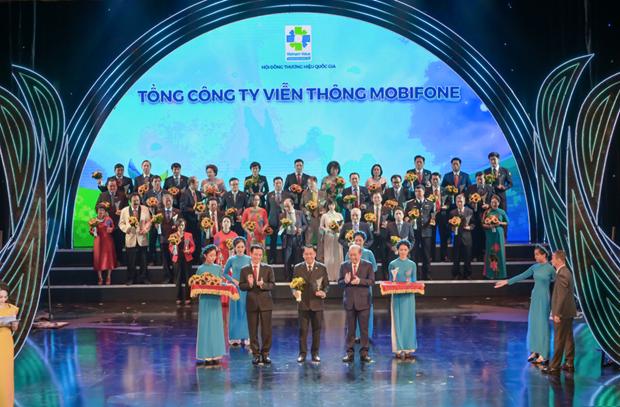 5 giai phap cua MobiFone duoc cong nhan Thuong hieu Quoc gia Viet Nam hinh anh 1