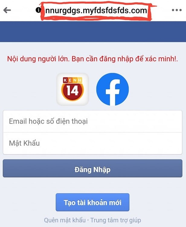 Ro hinh thuc lua dao chiem doat tai khoan Facebook dip cuoi nam hinh anh 2