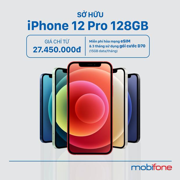 MobiFone uu dai lon cho cac khach hang mua iPhone 12 hinh anh 2