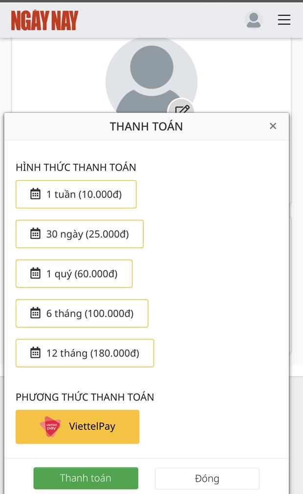 Tap chi dien tu dau tien cua Viet Nam tien hanh thu phi doc gia hinh anh 2