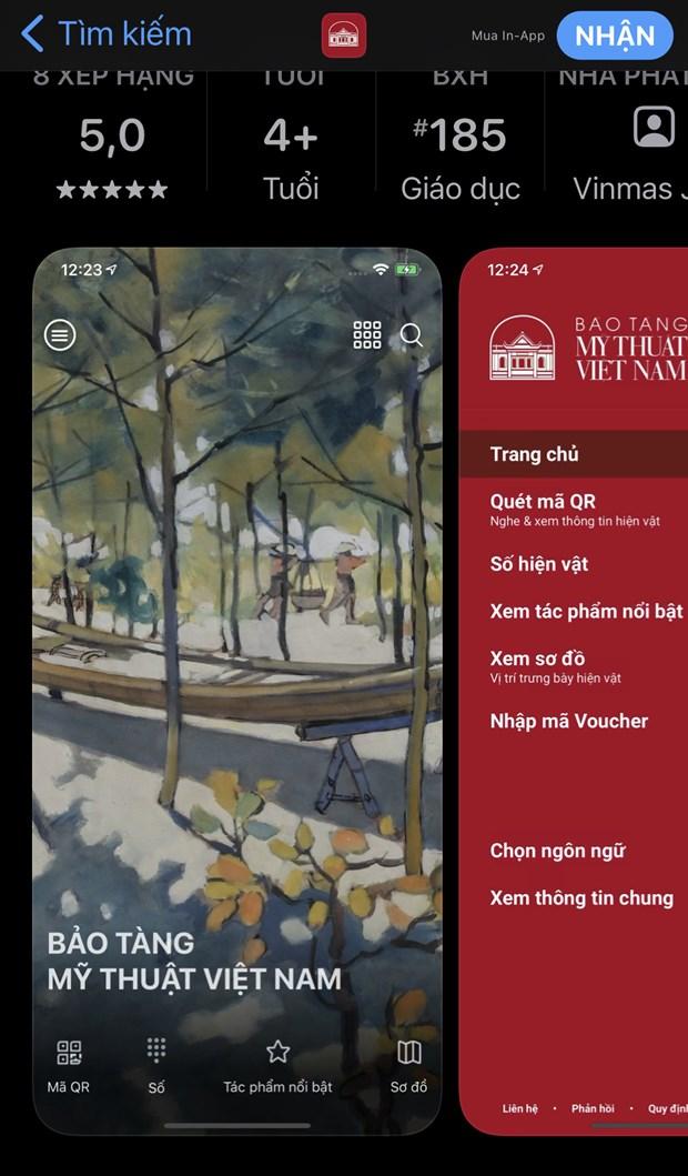 iMuseum VFA: 'Tro ly thong minh' khi tham quan Bao tang My thuat hinh anh 2