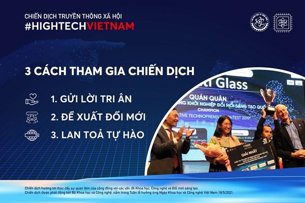 Bo Khoa hoc Cong nghe phat dong chien dich #HightechVietnam hinh anh 2