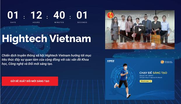 Bo Khoa hoc Cong nghe phat dong chien dich #HightechVietnam hinh anh 1