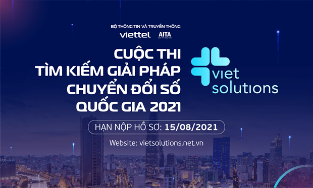 Viet Solutions 2021: Tim giai phap thuc day Chuyen doi so Quoc gia hinh anh 1