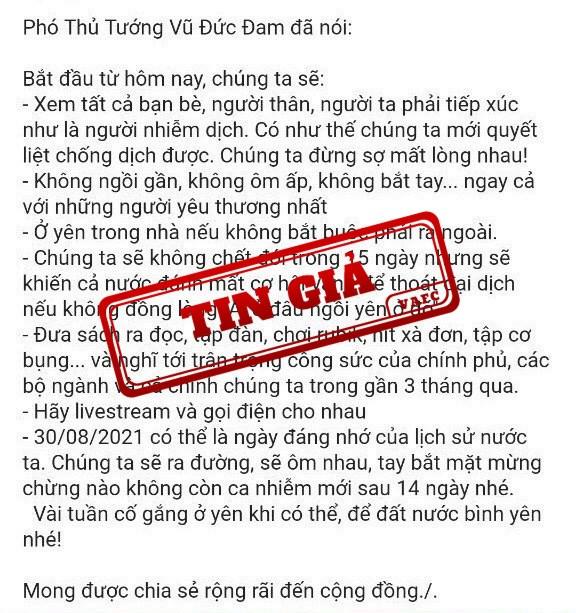 Xuat hien thong tin gia mao phat ngon chi dao cua Pho thu tuong hinh anh 1